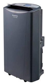 AC 350 KTClasse A avec roulettes télécommande minuteur 55 dB 3500 Watts monobloc mobile avec fonction ventilateur 435 m³/heure