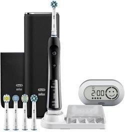 brosse dent lectrique braun oral b pro 7000 smart noir pas cher prix clubic. Black Bedroom Furniture Sets. Home Design Ideas