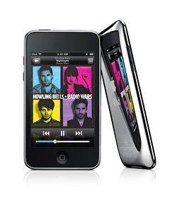 iPod Touch 8Go (3G) baladeur audio-vidéo MP3 USB 2.0 batterie Batterie rechargeable Li-ion AAC MPEG4 Mémoire Flash WAV AIFF WiFi H.264 iPod Touch Quicktime 6 8 Go avec sortie TV De 6 à 10 Go Bluetooth haut-parleur intégré 61,8 x 8,5 x 110 mm 115 grammes