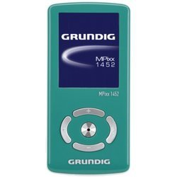 "Mpixx 1452 4Go - Greenbaladeur audio-vidéo batterie 4 Go avec Tuner FM MP3 Vert USB avec ecran LCD 4,5 cm (1,8"") microSDHC MicroSD WAV / WMA WMV 29,0 g"