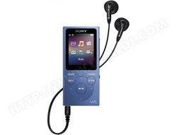 "NWE393L - Bleubatterie 4 Go avec Tuner FM baladeur audio MP3 WAV WMA AAC Noir Jack 3.5 39 g micro USB 1,77"""