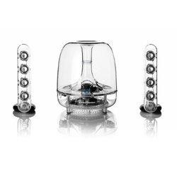 SoundSticks Wireless2.1 20 Watts 2 x 10 Watts 40 Watts RMS 44 Hz à 20 KHz