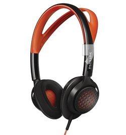 SHQ5200/10 - Noir/OrangeNomade filaire 1,2 mètres Mini jack 3,5 mm Oreillettes 18 Hz à 21 KHz 100 grammes