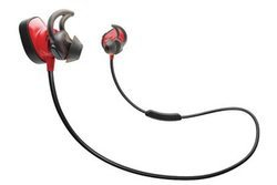 Soundsport Pulse - Rougesans fil Intra-auriculaire Bluetooth