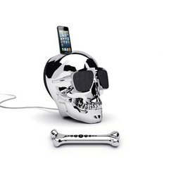AeroSkull HD - ChromeStation d'accueil / Enceintes Bluetooth Android NFC iOS (Apple) USB