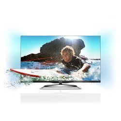 47PFL690716/9 HD TV 1080p 1920 x 1080 pixels 119 cm 4 x HDMI Tuner TNT MPEG4 (HD) intégré 600 Hz 500 000:1 Wifi 1 x Ethernet TV LED 3D 3 x Ports USB 400 cd/m² 47 pouces Borderless Ambilight