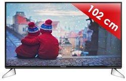 TX-40EX600E16/9 2 x Port USB 3 x Entrée HDMI WiFi 102 cm 40 pouces Tuner Satellite DVB-T2 Ultra HD 4K 3840 x 2160 pixels 1 x casque LED TNT HD 1 x RCA 1 x Sortie optique 1300 Hz