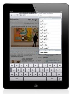 iPad 2 Noir - 64Go Wifiavec clavier tactile Wifi 9,7 pouces 64Go iOS iPad 2
