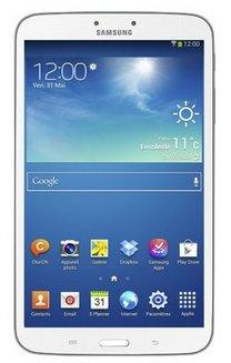 Samsung galaxy tab 3 8 t3100 16go wi fi blanc sm t3100zwaxef pas cher prix clubic - Samsung galaxy tab 3 7 8go lite blanc ...