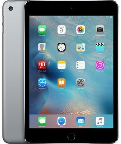 iPad mini 4 Gris sidéral - 128Go Wifi + 4G (MK762NF/A)avec clavier tactile Wifi iOS 4G 128Go 7,9 pouces iPad mini 4