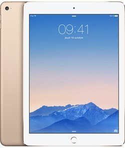 iPad Air 2 Or - 128Go Wifi (MH1J2NF/A)avec clavier tactile Wifi 9,7 pouces iOS 128Go iPad Air 2