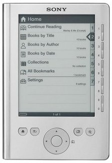 Reader eBook Touch Edition PRS-300 Argent