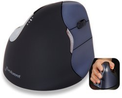 VerticalMouse 4 Wireless (VM4RW)Avec molette sans fil USB Laser 6 boutons Souris Pour Droitier Uniquement