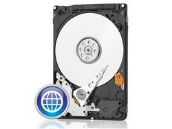 WD10JPVX WD Blue 1To SATA III 5400trs/mn 8MoInterne pour portable 5400 tours / minute 1 To Serial ATA III