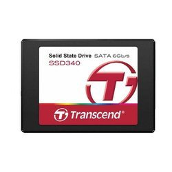 SSD Transcend 128 Go (TS128GSSD340)7200 tours / minute Interne SSD 128 Go Serial ATA III
