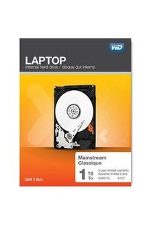 Laptop mainstream 1To (WDBMYH0010BNC)Serial ATA II Interne pour portable 5400 tours / minute 1 To
