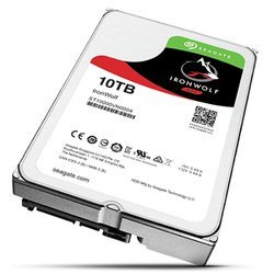 Iron Wolf 10 To SATA III (ST10000VN0004)Interne 7200 tours / minute Serial ATA III 10 To