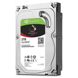 IronWolf 2 To  SATA III (ST2000VN004)Interne 2 To Serial ATA III 5900 tours / minute