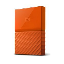 My Passport USB 3.0 - 1 To Orange (WDBYNN0010BOR-WESN)Externe USB 3.0 1 To