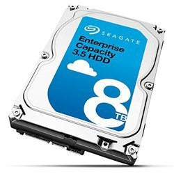 Enterprise Capacity 3.5 HDD - 8 To SATA III (ST8000NM0045)Interne 7200 tours / minute Serial ATA III 8 To