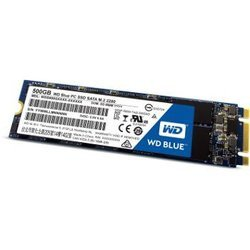 Blue 500Go SSD SATA III (WDS500G1B0B)500 Go Interne SSD Serial ATA III