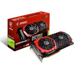 GeForce GTX 1060 Gaming X - 6Go (GTX 1060 GAMING X 6G)avec ventilateur GDDR5 PCI Express 3.0 x16 6 Go GeForce GTX 1060 DVI Dual-Link 3 x DisplayPort 1.4 1 x HDMI 2.0