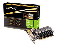 GeForce GT 730 - 4 Go (ZT-71115-20L)VGA DVI GDDR3 HDMi 4 Go PCI Express 2.0 x16 GeForce GT 730