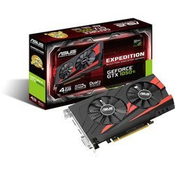 GeForce GTX 1050 Ti EX - 4 Go (EX-GTX1050TI-4G)avec ventilateur GDDR5 4 Go PCI Express 3.0 1 x DVI-D DL 1 x HDMI 2.0b 1 x DisplayPort 1.4 GeForce GTX 1050
