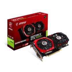 GeForce GTX 1050 Ti Gaming X - 4Go (GeForce-GTX-1050-Ti-GAMING-X-4G)avec ventilateur PCI Express x16 GDDR5 4 Go DVI-D 1 x DVI 1 x HDMI 2.0 1 x DisplayPort 1.4 GeForce GTX 1050 Ti