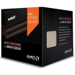 FX8350 Wraith Cooler (FD8350FRHKHBX)Quad-core (4 Core) Octa-core (8 Core) AMD FX Socket AM3+ 16 Mo 4 GHz