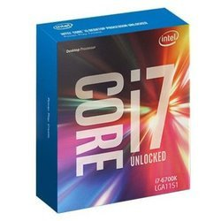 Core i7 6700KQuad-core (4 Core) 4 x 32 Ko Intel Core i7 4 x 256 Ko 8 Mo Intel Ventilateur Radiateur Socket 1151 Intel 4 GHz HD Graphics 530