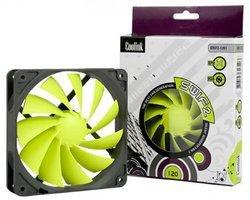 SWiF2-1200Boîtier 120 mm - de 2000 tours/mn Ventilateur 120,0 mm 120,0 mm Silencieux - 20 dBA 1 x 120 mm 1 800 tours/mn 8 dBA 35 CFM 25,0 mm SWIF2-1200 http://www.kolink.com.tw