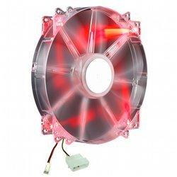 MegaFlow 200 Red LED Silent FanBoîtier - de 2000 tours/mn Ventilateur Silencieux - 20 dBA 19 dBA 1 http://www.coolermaster.fr 700 tours/min 110 CFM 200 mm Châssis 1 x 200 mm 1 x 110 CFM 200,0 mm 200,0 mm 30,0 mm 266,0 g R4-LUS-07AR-GP
