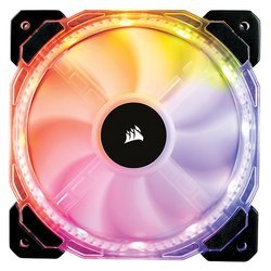 HD120 RGB LED - MulticoloreBoîtier 120 mm 30 dBA 54,4 CFM 1725 tours/mn