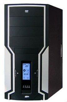 B98804CABoitier moyen tour ATX Micro ATX Acier avec alimentation 400 Watts Oui Oui Oui 2 x 80mm Gris métal / noir
