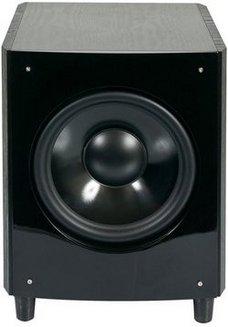 SW10 Noir120 Watts Caisson de basses 1 35 Hz à 200 Hz