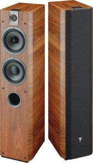 Chorus 716 - Noyer (Paire)Colonne 2,5 50 Hz à 28 KHz 200 Watts