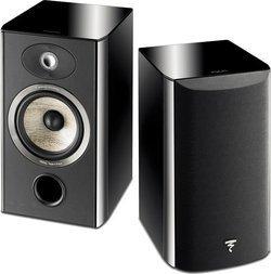 Aria 906 - Noir (Paire)Compacte 2 Bibliothèque 55 Hz à 28 KHz 25 Watts