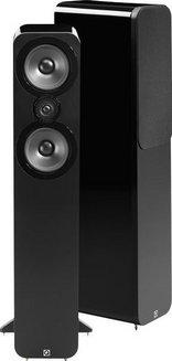 3050  - Noir laqué (Paire) Colonne 2 100 Watts 44 Hz à 22 KHz