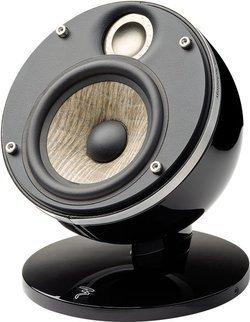 Dome-Sat Flax - BlackCompacte 2 100 Watts 80 Hz à 28 kHz