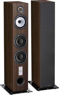 Antal EZ - Noyer (Paire)Colonne 3 120 Watts Bass Reflex 40 Hz à 22 KHz