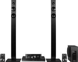 SC-BTT465EGK5.1 avec lecteur DVD Dolby Digital Dolby Pro Logic II AM/FM Dolby True HD avec lecteur Blu-ray Dolby Digital + 1000 Watts DTS-HD Master Audio Bluetooth 167 Watts 167 Watts DTS-HD High Resolution