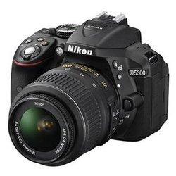D5300 + 18-55mm - NoirUSB Reflex CMOS SDHC (Secure Digital High Capacity) Noir HD 1080p HDMi ISO 12800 530 g Inclus Optique Numérique MOV (Quicktime Movie) 24 Mp 8 cm