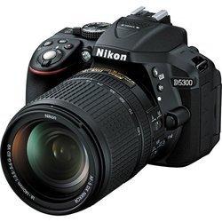 D5300 + 18-140mmUSB Reflex CMOS SDHC (Secure Digital High Capacity) Noir HD 1080p HDMi ISO 12800 SDXC 530 g 24 Mp 8,13 cm