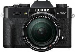 X-T20 + XF 18-55mm - Noir Hybride SDXC Optique 7.62 cm 51200 ISO SD 3 Pouces USB 2.0 SDHC Micro HDMI APS-C X-Trans CMOS III 24 Megapixels 333 g Manuel