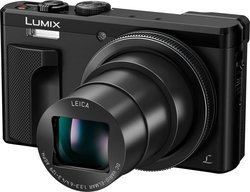 Lumix DMC-TZ80 - NoirCompact ISO 100 ISO 400 ISO 1600 ISO 800 ISO 200 ISO 80 ISO 3200 WiFi Optique SDHC (Secure Digital High Capacity) HD 1080p 30x 18 Mp SDXC 7.62 cm SD Auto 3 Pouces 6400 ISO MOS 282 g Numérique