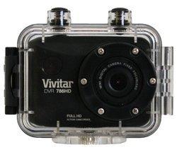 DVR 786 HD - Noir USB Micro SD Wi-Fi étanche Caméra sport 12 Mpixel 583 g 32 Go 4,5 cm