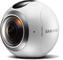 """Gear 360 - ArgentUSB 151.7 g Caméra de sécurité 15 Mp 0.5"""""""