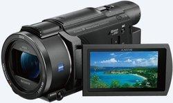 """FDR-AX53 - NoirOptique Secure Digital HC Noir SDXC Wi-fi 20x NFC Professionnels 921 600 pixels Micro USB 7,5 cm (3"""") 8,29 Mpixel 635 g"""
