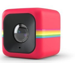 "Cube - RougeUSB poche Micro SD Bleu étanche Caméra sport 1.7"" 32 Go 6 Mpixel"